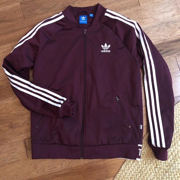 adidas the brand with the 3 stripes jacket